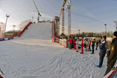 Rampe bei Luzhniki Stockfoto