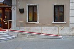 Rampe di discesa Fotografia Stock
