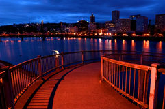 Rampe vers Portland Orégon image libre de droits