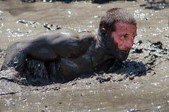 Rampement de boue Photo libre de droits