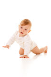 Rampement mignon de bébé Photos libres de droits