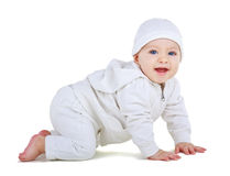 Rampements d'enfant photos stock