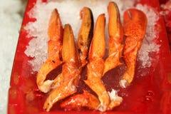 Rampements de crabe images stock