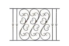 Rampes en acier décoratives, barrière Image stock