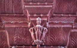 Rampuria Haveli w Bikaner, Rajasthan, India fotografia royalty free