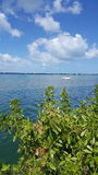 Ramrod Key Florida,. This wonderful little spot I have discovered is walking distance from my home. We take the kids kayaking here Stock Image