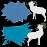 Ramrussland-Artknallrede Stockfoto