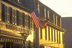 Rams Head Tavern at Sunset, Annapolis, Maryland Stock Image