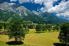 Ramsau上午Dachstein 库存图片