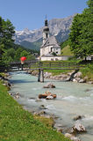 Ramsau church Royalty Free Stock Photos