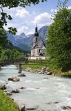 Ramsau church Royalty Free Stock Photo