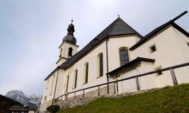 Ramsau kyrka Royaltyfria Foton