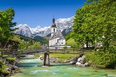 Ramsau, terra di Berchtesgadener, Baviera, Germania Immagini Stock