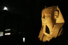 Ramses и луна Стоковое фото RF