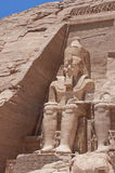 Ramses 2, Abu Simbel Royalty Free Stock Images