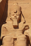 Ramses Abu Simbel temple Stock Photo