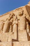 Ramses II Abu Simbel, стоковое фото rf
