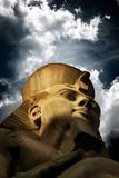 Ramses II . acient King of Egypt stock photos