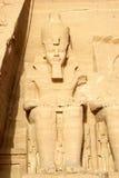 Ramses II in Egypte royalty-vrije stock afbeeldingen