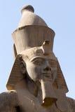 Ramses II en Luxor Imagenes de archivo