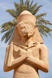 Ramses II. Karnak寺庙。 卢克索,埃及 库存照片
