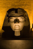 Ramses II in Night_Luxor Royalty-vrije Stock Foto