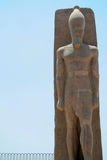 Ramses II Statue in Memphis Royalty Free Stock Images