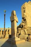Ramses II w Karnak świątyni, Luxor Zdjęcie Royalty Free