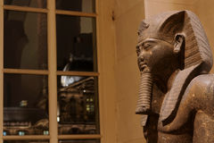 Ramses II at the window Royalty Free Stock Photography