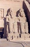 Ramses jättar royaltyfri bild