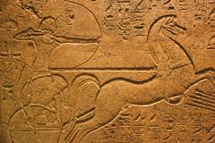 Ramses les antiquités antiques de roi, musée de Louxor chez l'Egypte photos libres de droits