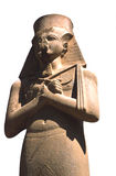 Ramses pharoah isolated stock image