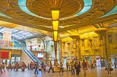 Ramses Railway Station royaltyfri bild