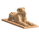 Ramses statue Royalty Free Stock Image