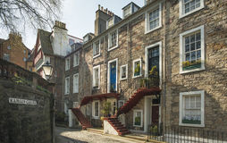 Ramsey庭院,爱丁堡 免版税图库摄影