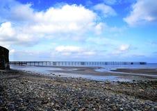 Ramsey海滩&码头 免版税库存照片