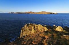 Ramsey Island, Ynys Dewi And The Pembroke Coast Stock Photos
