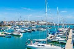 Ramsgate's皇家港口小游艇船坞 图库摄影