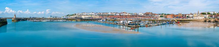 Ramsgate's皇家港口小游艇船坞 库存照片