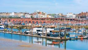 Ramsgate's schronienia Królewski Marina Zdjęcia Royalty Free