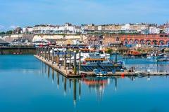 Ramsgate's schronienia Królewski Marina Fotografia Royalty Free
