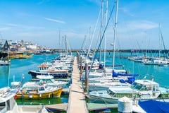 Ramsgate's schronienia Królewski Marina Obrazy Royalty Free