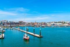 Ramsgate's schronienia Królewski Marina Obraz Stock