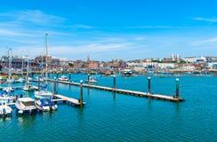 Ramsgate's schronienia Królewski Marina Obrazy Stock