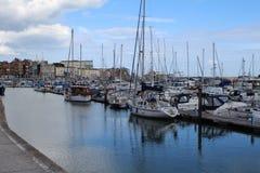 Ramsgate的港口在肯特 免版税库存图片