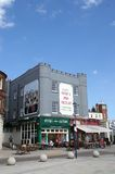 Ramsgate Fish n Chip shop. A grand Fish n chip shop in Ramsgate sea front town. Picture is ideal to show location features and places to eat Stock Photo