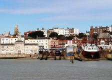 Ramsgate Harbour, England, UK. Ramsgate Harbour and town with Maritime Museum Stock Photo