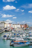 Ramsgate. Harbour in Kent England Stock Image