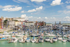 Ramsgate. Harbour in Kent England Stock Photos
