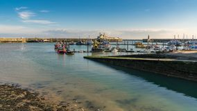 Ramsgate, Kent, England, UK. September 19, 2017: Boats in the Royal Harbour Marina Stock Images